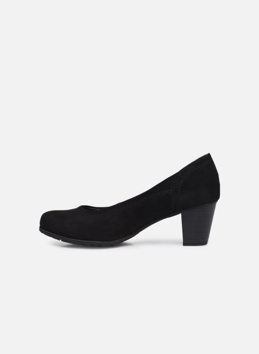 Pumps Jana shoes Romanza schwarz ansicht von vorne