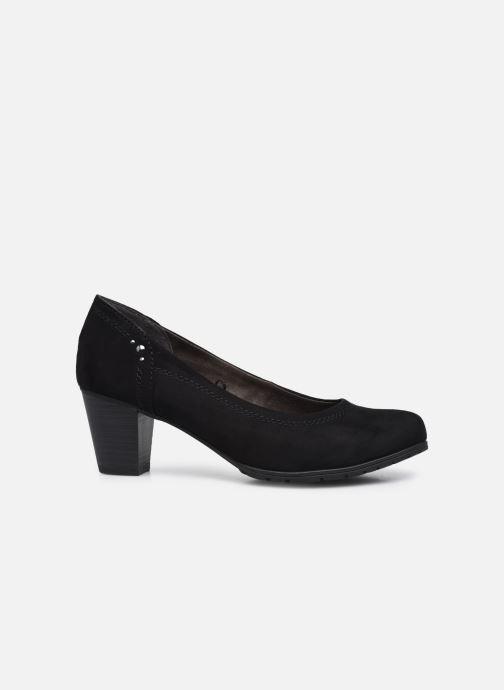 Pumps Jana shoes Romanza schwarz ansicht von hinten