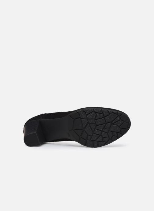 Pumps Jana shoes Romanza schwarz ansicht von oben