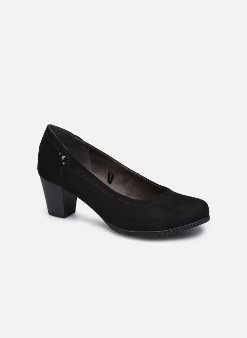 Escarpins Jana shoes Romanza Noir vue détail/paire