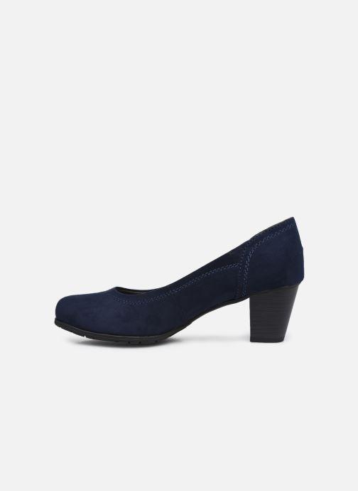 Escarpins Jana shoes Romanza Bleu vue face