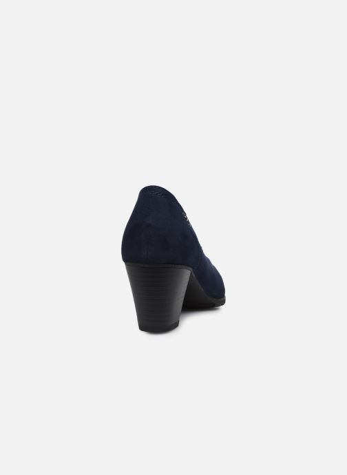 Escarpins Jana shoes Romanza Bleu vue droite