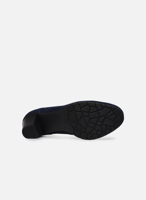 Escarpins Jana shoes Romanza Bleu vue haut
