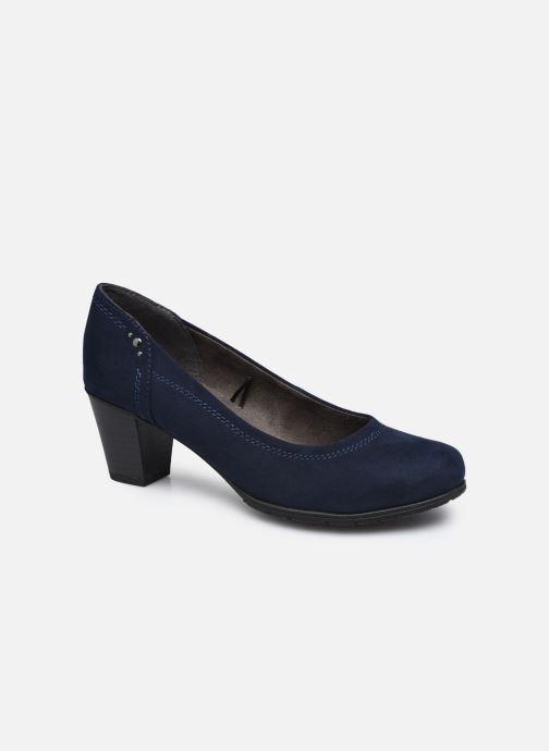 Escarpins Jana shoes Romanza Bleu vue détail/paire