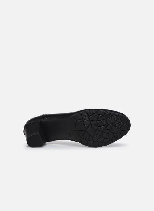 Pumps Jana shoes Ravva schwarz ansicht von oben