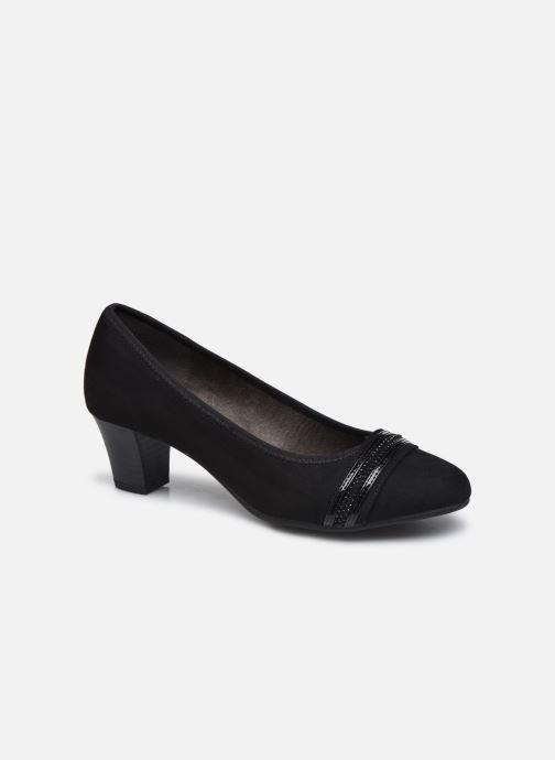 Escarpins Jana shoes Himoni Noir vue détail/paire