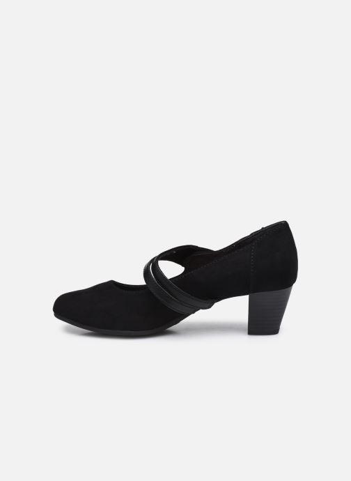 Escarpins Jana shoes Griski Noir vue face