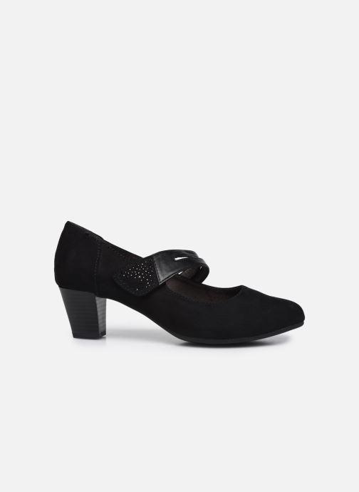 Escarpins Jana shoes Griski Noir vue derrière