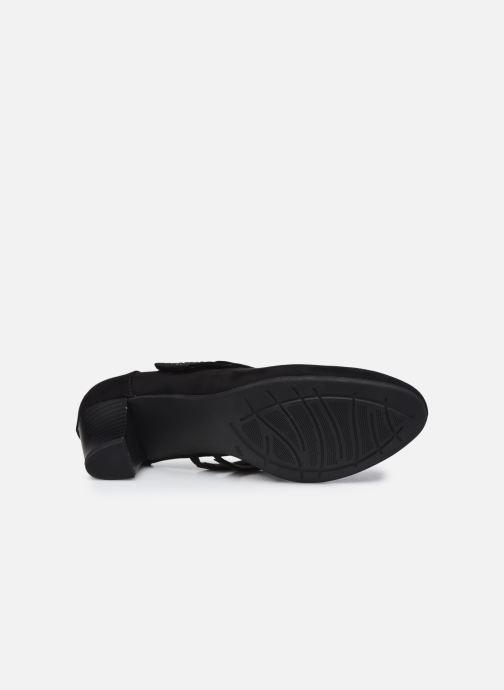 Escarpins Jana shoes Griski Noir vue haut
