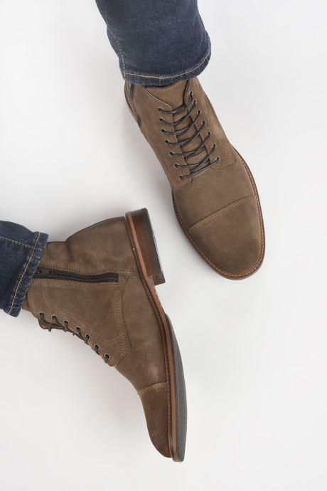 Bottines et boots Marvin&Co Demetrios Marron vue bas / vue portée sac