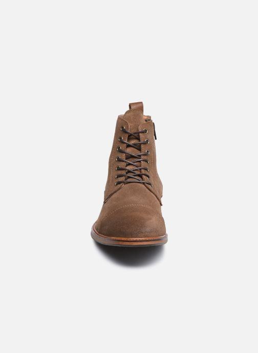 Bottines et boots Marvin&Co Demetrios Marron vue portées chaussures