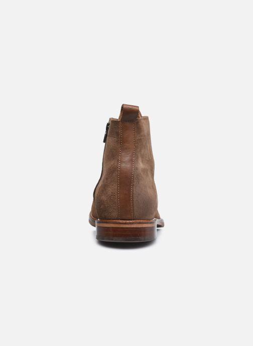 Bottines et boots Marvin&Co Demetrios Marron vue droite