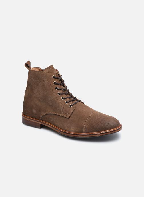 Ankelstøvler Marvin&Co Demetrios Brun detaljeret billede af skoene
