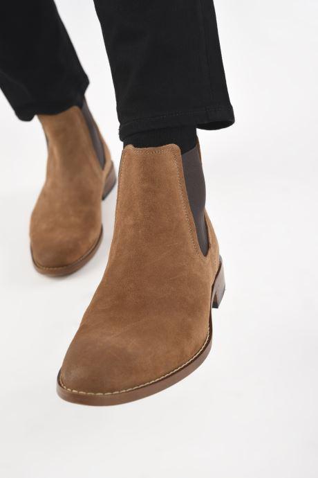 Stiefeletten & Boots Marvin&Co Donato braun ansicht von unten / tasche getragen