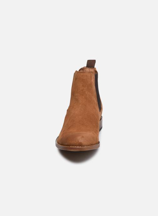 Bottines et boots Marvin&Co Donato Marron vue portées chaussures