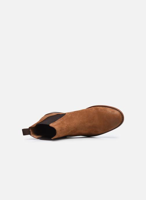 Bottines et boots Marvin&Co Donato Marron vue gauche