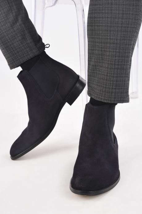 Stiefeletten & Boots Marvin&Co Donato blau ansicht von unten / tasche getragen