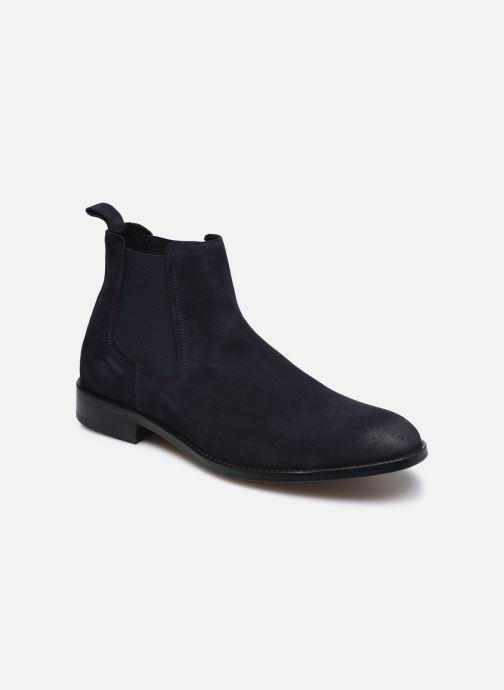 Ankelstøvler Marvin&Co Donato Blå detaljeret billede af skoene
