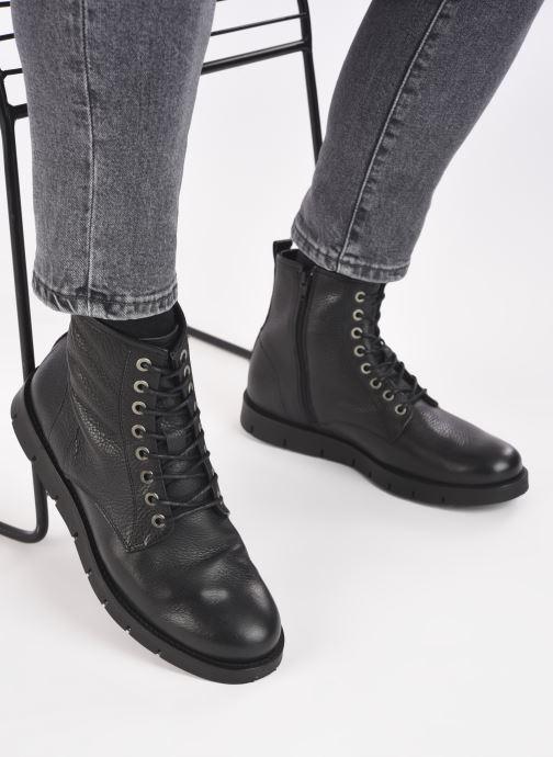 Stiefeletten & Boots Mr SARENZA Domenico schwarz ansicht von unten / tasche getragen