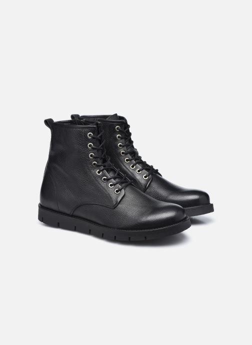 Boots en enkellaarsjes Mr SARENZA Domenico Zwart achterkant