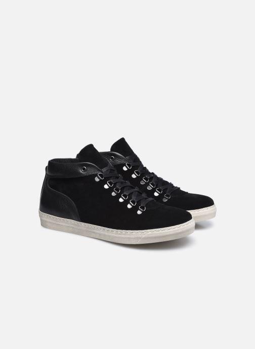 Sneaker Mr SARENZA Duccio schwarz ansicht von hinten