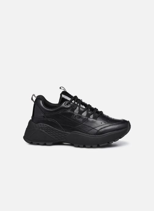 Sneakers S.Oliver Elba Zwart achterkant