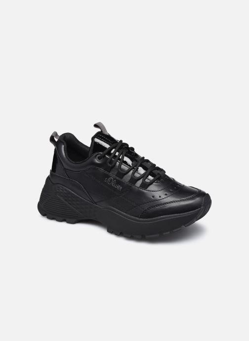 Sneakers S.Oliver Elba Zwart detail