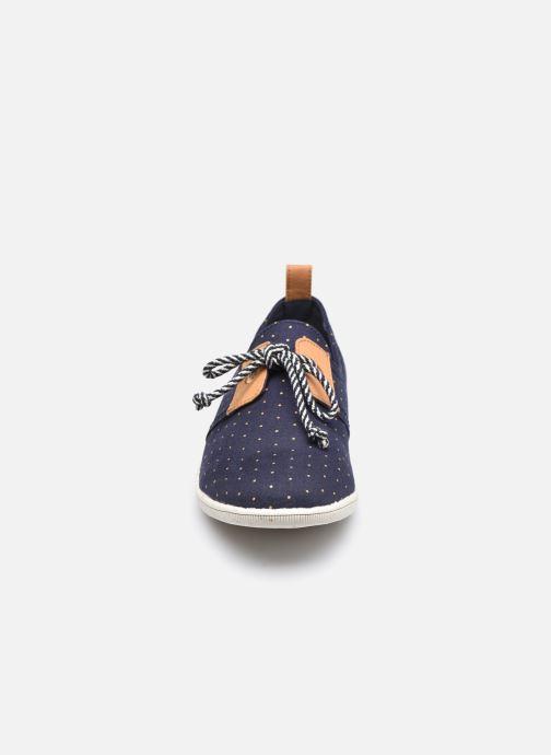 Baskets Armistice Stone One W Org.Canvas Dots Bleu vue portées chaussures