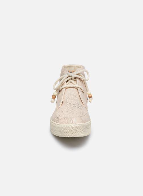 Baskets Armistice Sonar Mid W Eden Beige vue portées chaussures