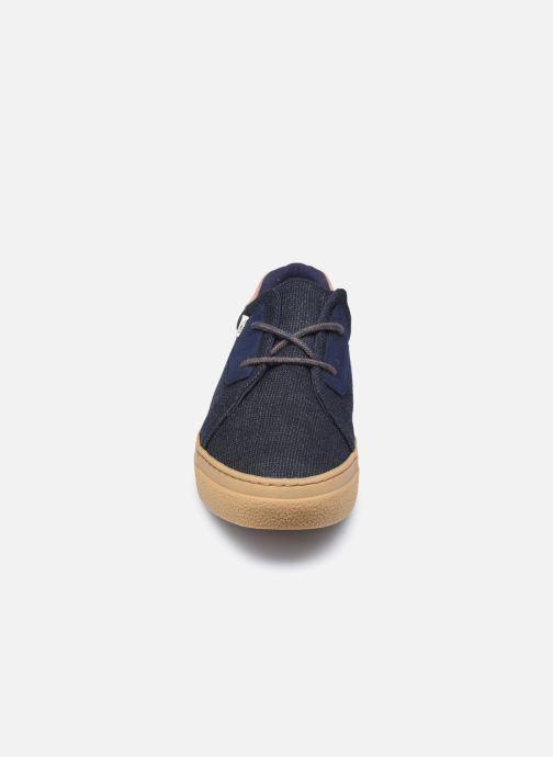Baskets Armistice Onyx Basket M  Building Bleu vue portées chaussures