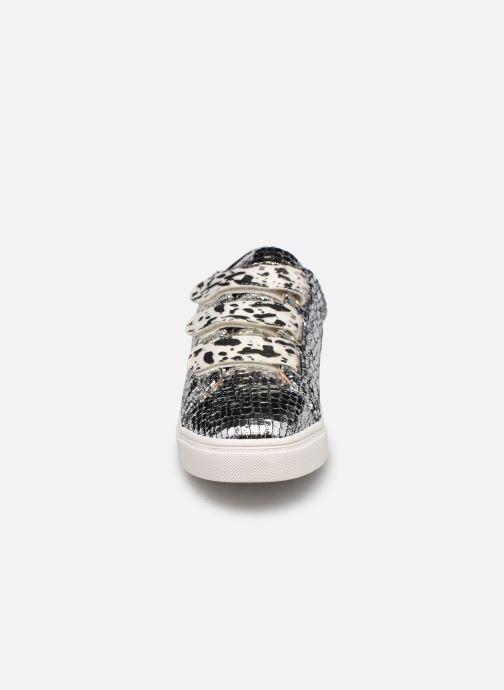 Baskets Vanessa Wu BK2162 Argent vue portées chaussures