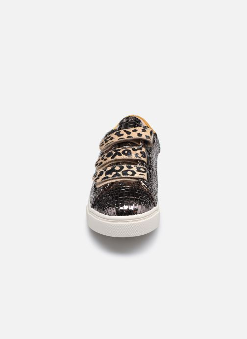Baskets Vanessa Wu BK2162 Gris vue portées chaussures