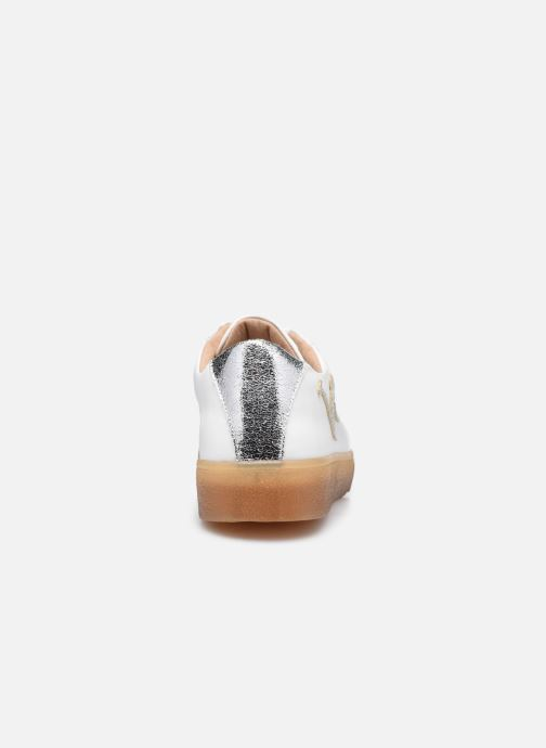 Sneaker Vanessa Wu BK2164 weiß ansicht von rechts