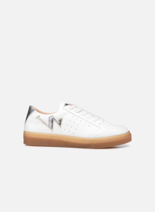 Sneaker Vanessa Wu BK2164 weiß ansicht von hinten