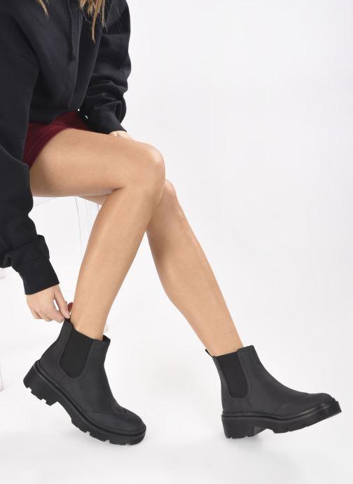 Stiefeletten & Boots Vanessa Wu BT2180 schwarz ansicht von unten / tasche getragen
