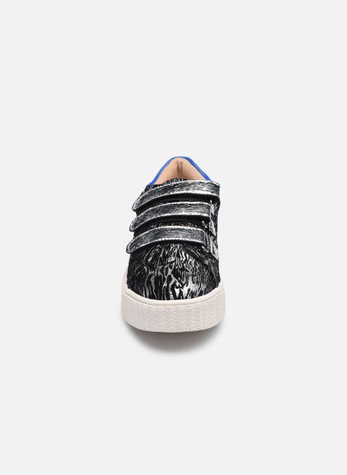 Baskets Vanessa Wu BK2181 Argent vue portées chaussures