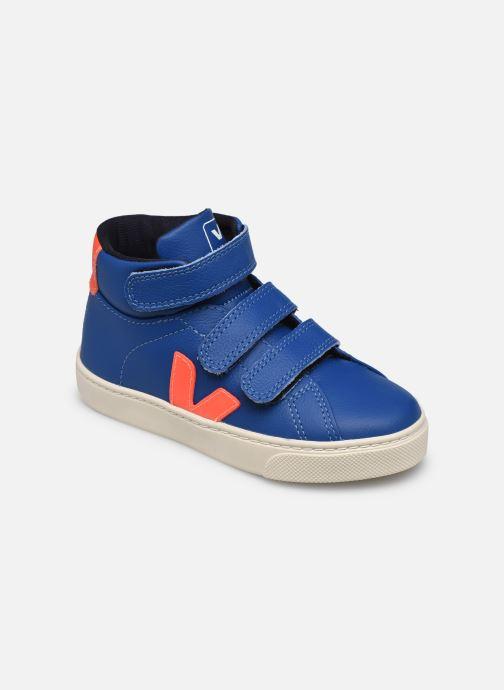 Sneaker Veja Small Esplar Mid Fur Leather blau detaillierte ansicht/modell