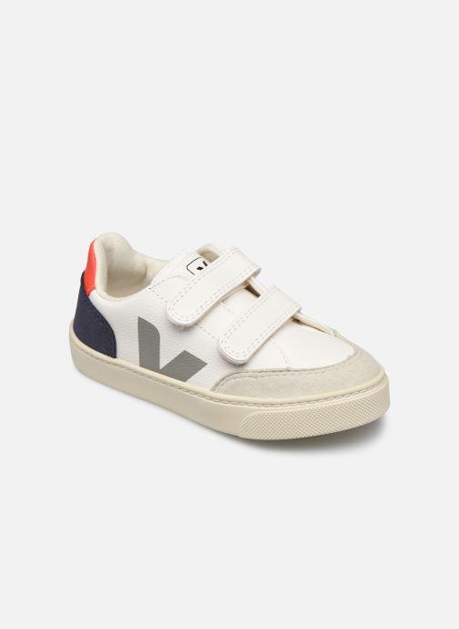Sneaker Veja Small V-12 Velcro Leather weiß detaillierte ansicht/modell