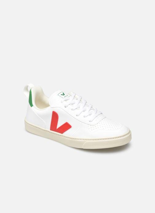 Sneaker Veja Small V-10 Laces weiß detaillierte ansicht/modell
