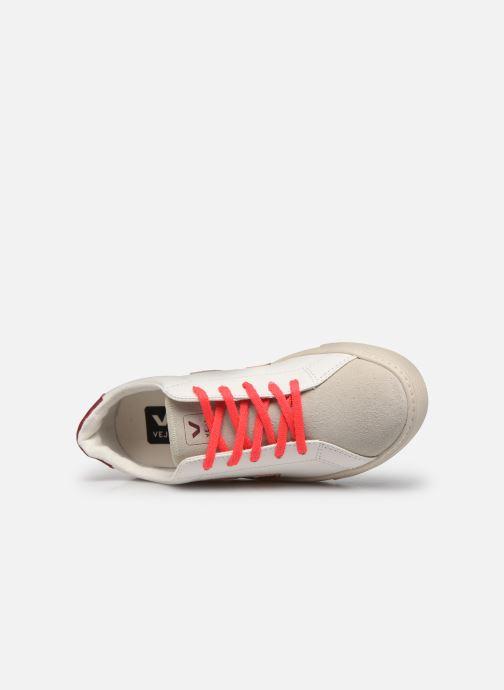 Sneaker Veja Small Esplar Lace Leather weiß ansicht von links