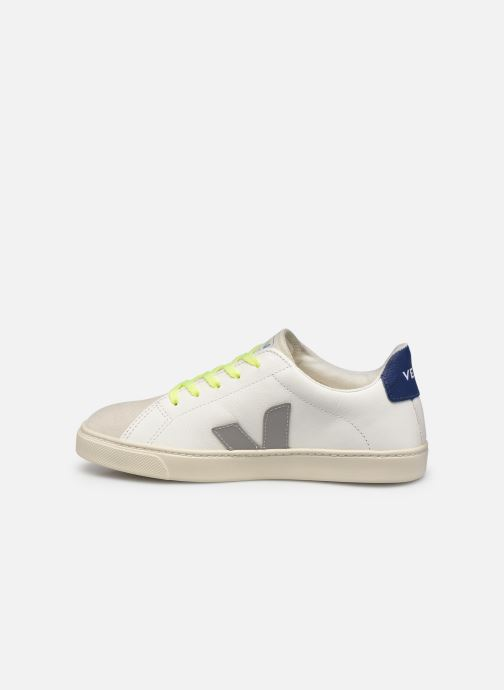 Sneakers Veja Small Esplar Lace Leather Bianco immagine frontale