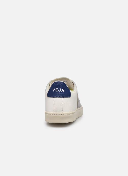 Sneakers Veja Small Esplar Lace Leather Bianco immagine destra