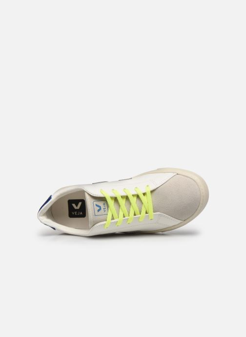 Sneakers Veja Small Esplar Lace Leather Bianco immagine sinistra