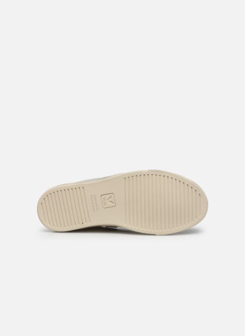 Sneaker Veja Small Esplar Lace Leather weiß ansicht von oben