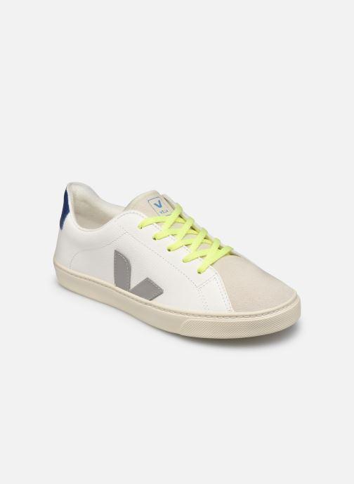 Sneakers Veja Small Esplar Lace Leather Bianco vedi dettaglio/paio