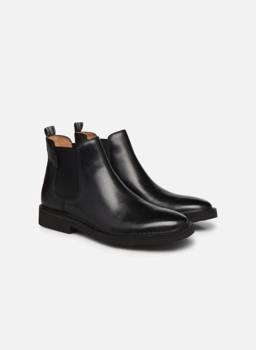 Bottines et boots Polo Ralph Lauren Talan Chlsea Noir vue 3/4