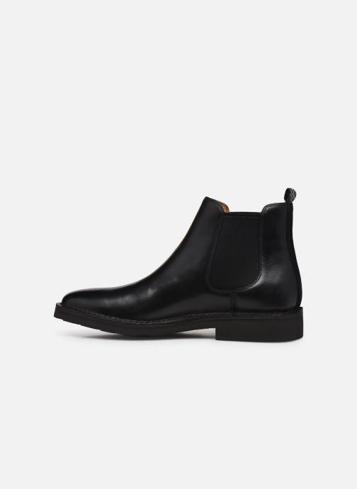 Bottines et boots Polo Ralph Lauren Talan Chlsea Noir vue face