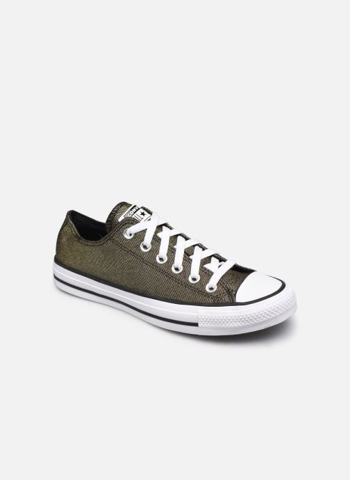 Baskets Converse Chuck Taylor All Star Industrial Glam Ox Argent vue détail/paire