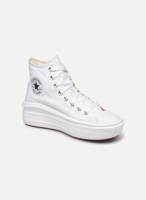Deportivas Converse Chuck Taylor All Star Move Canvas Color Hi Blanco vista de detalle / par