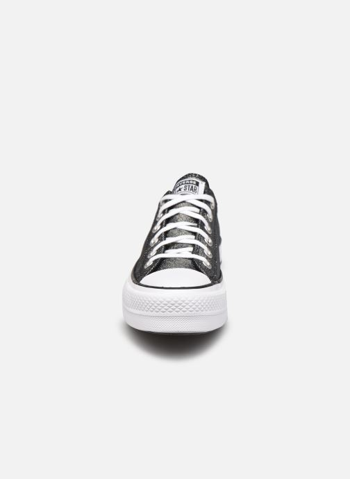 Baskets Converse Chuck Taylor All Star Lift Industrial Glam Ox Or et bronze vue portées chaussures